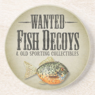 QUERIDO: Viejas trampas de los pescados Posavasos Manualidades