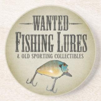 QUERIDO: Viejos señuelos de la pesca Posavaso Para Bebida