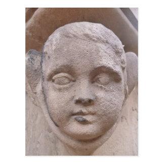querube de la lápida mortuaria, peterskirche, tarjetas postales