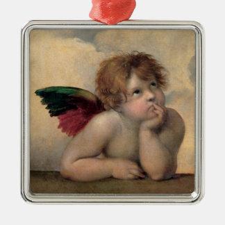 Querube de Sistine Madonna por Raphael Adornos