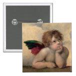 Querube de Sistine Madonna por Raphael Pins