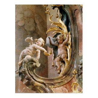 Querubes, 1737-66 tarjetas postales