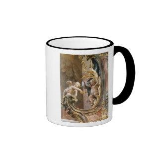 Querubes, 1737-66 taza de dos colores