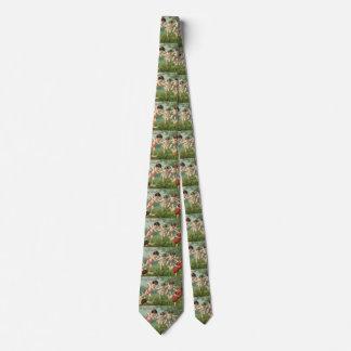 Querubes del el día de San Valentín del vintage Corbata Personalizada