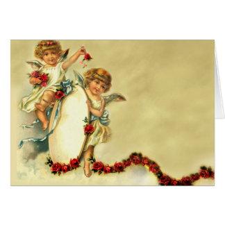 Querubes del Victorian Felicitacion
