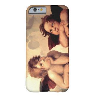 Querubes Raffaelo Sanzio de Sistine Madonna Funda Para iPhone 6 Barely There