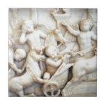 Querubes romanas de mármol tejas  ceramicas