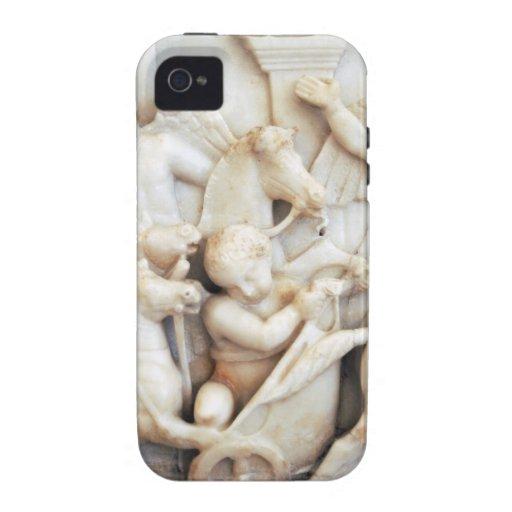 Querubes romanas de mármol vibe iPhone 4 carcasas
