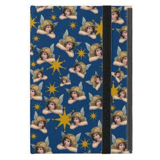 Querubes y estrellas de Navidad del vintage iPad Mini Carcasa