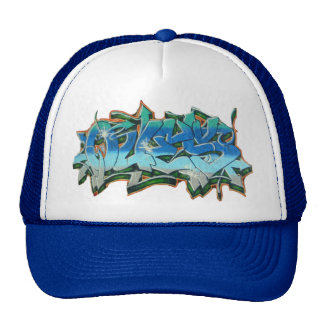 QUES GRAFFITI 2 TRUCKER HATS