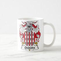 Quesada Family Crest Mug