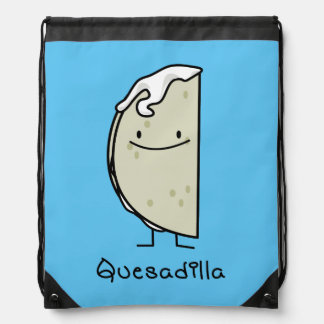 Quesadilla Mexican grilled Tortilla with Cheese Drawstring Bag