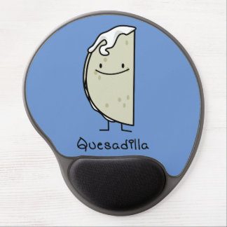 Quesadilla Mexican grilled Tortilla with Cheese Gel Mouse Pad