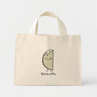 Quesadilla Mexican grilled Tortilla with Cheese Mini Tote Bag