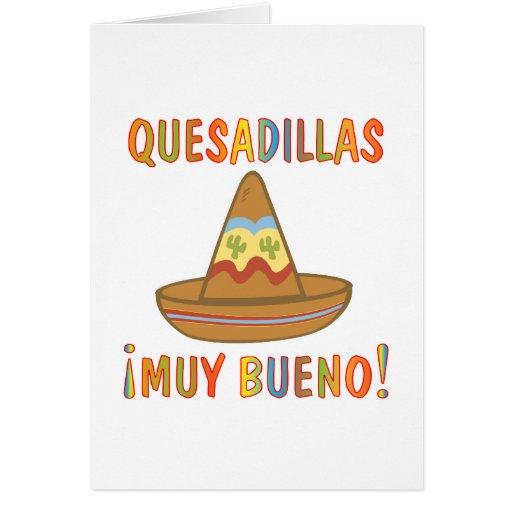 QUESADILLAS GREETING CARDS