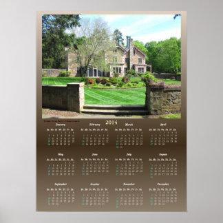 Queset House Calendar ~ Print
