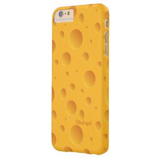 Queso amarillo de los agujeros funda de iPhone 6 plus barely there