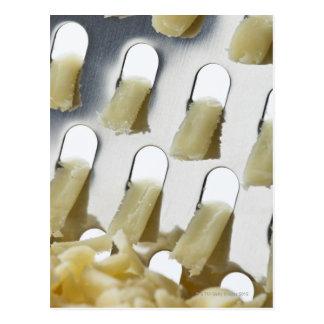 queso blanco, Cheddar, rallador inoxidable del Postales