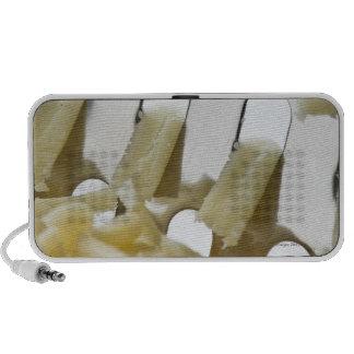 queso blanco, Cheddar, rallador inoxidable del que Altavoces
