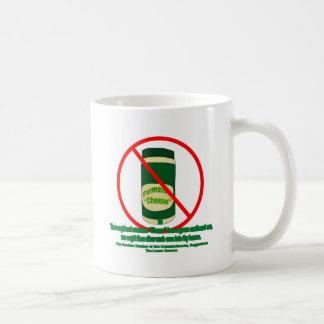 Queso conservado tazas de café
