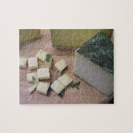 Queso de Cornualles de Yarg Puzzle Con Fotos