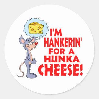 Queso de Hunka Etiqueta