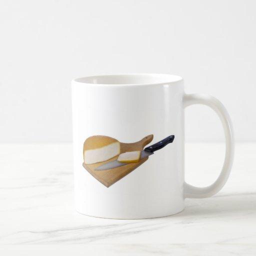 queso de la charcutería taza de café
