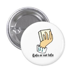 Queso de soja o no botón del queso de soja pin redondo de 1 pulgada