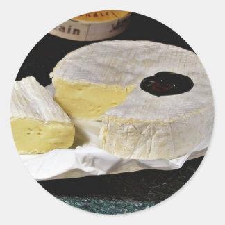 Queso del camembert pegatinas