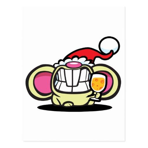 ¡QUESO del navidad! Postal