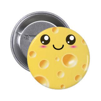 Queso feliz lindo de Kawaii Pins