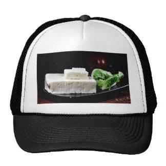 Queso feta griego gorras de camionero