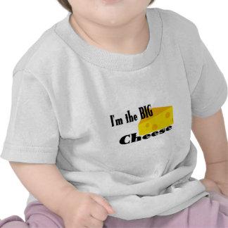Queso grande camiseta
