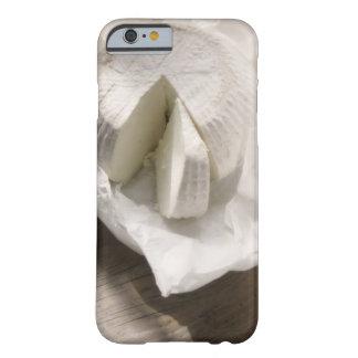 queso orgánico desempaquetado y corte funda para iPhone 6 barely there