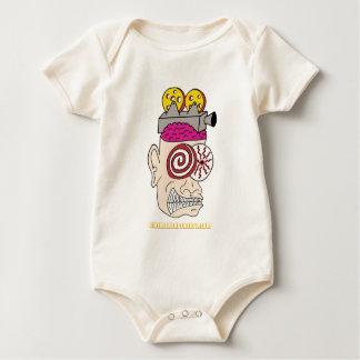 Queso principal del cine body para bebé