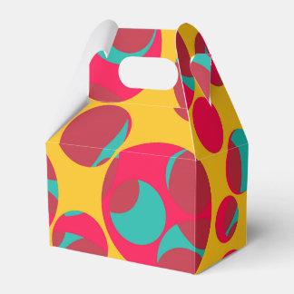 Queso psicodélico cajas para regalos de boda
