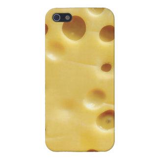 queso suizo iPhone 5 funda