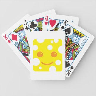 Queso suizo lindo de KAWAII Baraja Cartas De Poker