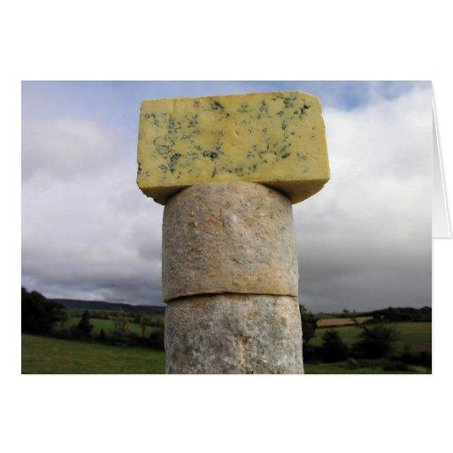 Queso verde de Exmoor, Lydeard St Lawrence, Tarjeta De Felicitación