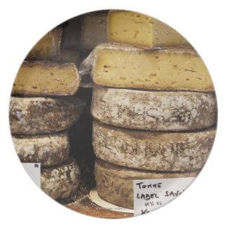 quesos franceses regionales del artesano plato