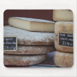 quesos típicos de los Pirineos Mouse Pad