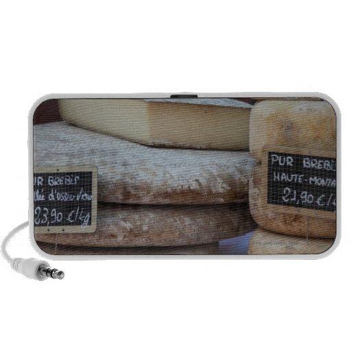 quesos típicos de los Pirineos Notebook Altavoz