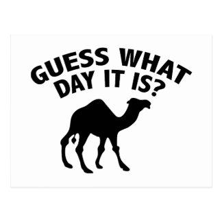 ¿Quess qué día es? Postales