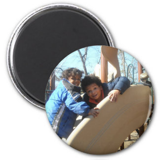 Quest And Rio 2 Inch Round Magnet