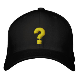Quest ? embroidered baseball hat