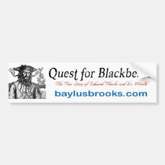 Quest for Blackbeard promotional bumper sticker 2