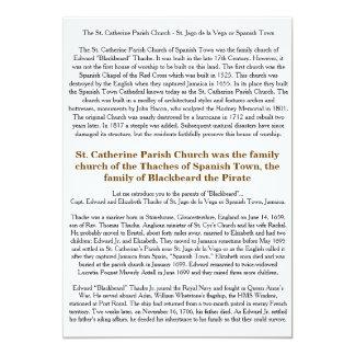 Quest for Blackbeard - Thache Family Church Color Card