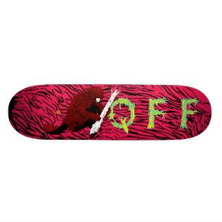 Quest For Fire- Beaver Board Skate Deck