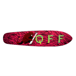 Quest For Fire Old School Beaver Skateboard