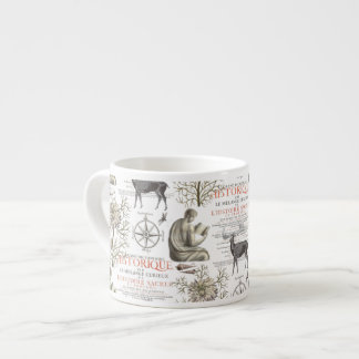 Quest for Knowledge - History and Science Espresso Cup